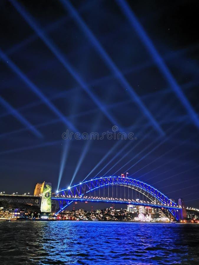 Ponte Sydney Australia do porto fotografia de stock