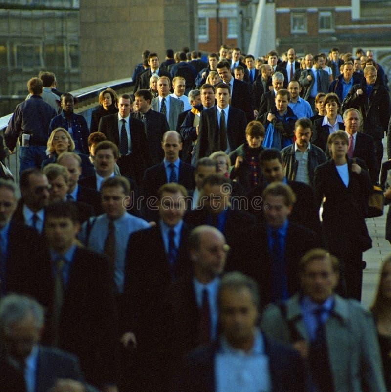 Ponte transversal de Londres dos assinantes fotografia de stock