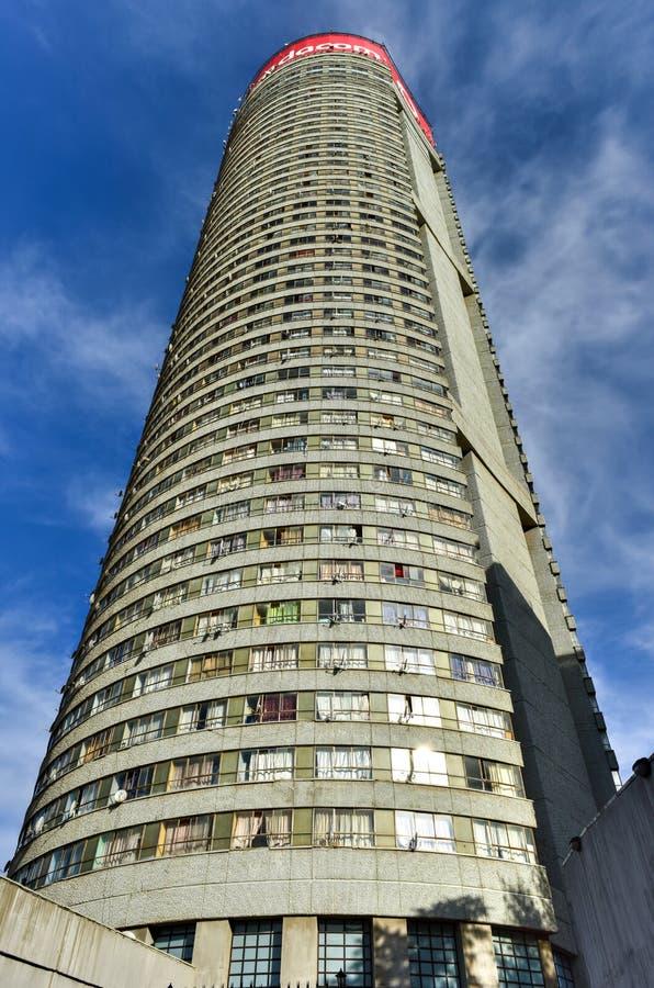 Ponte-Turm - Hillbrow, Johannesburg, Südafrika lizenzfreies stockfoto