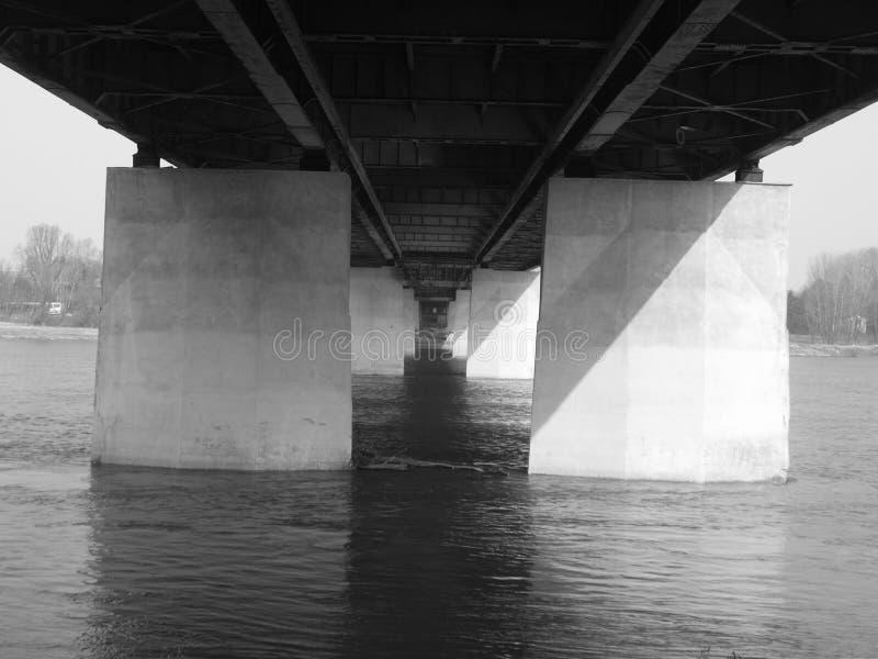 Ponte Varsóvia: D imagem de stock