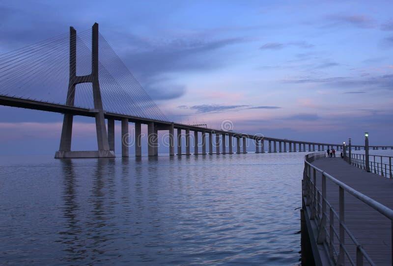 Download Ponte Vasco Da Gama Royalty Free Stock Photos - Image: 8666568