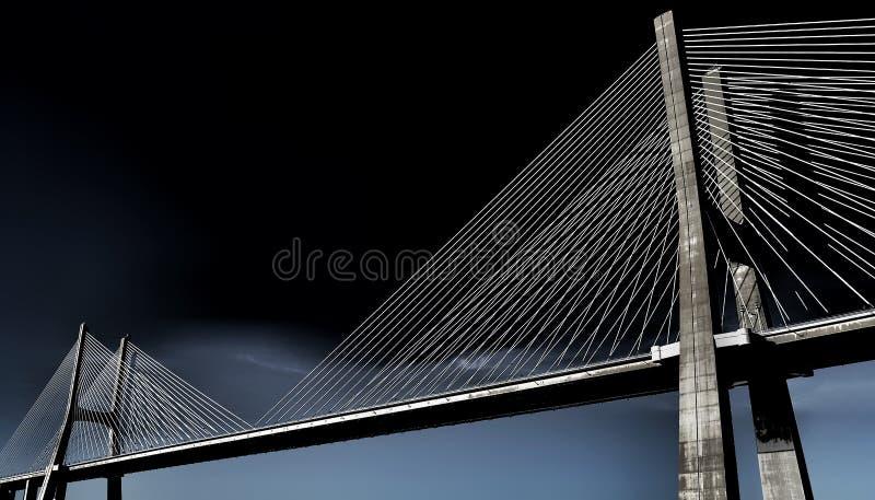 ponte Vasco de GAMA du DA Pont Portugal images libres de droits