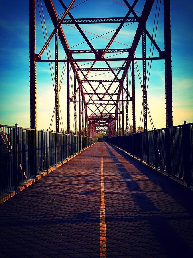 Ponte vazia foto de stock