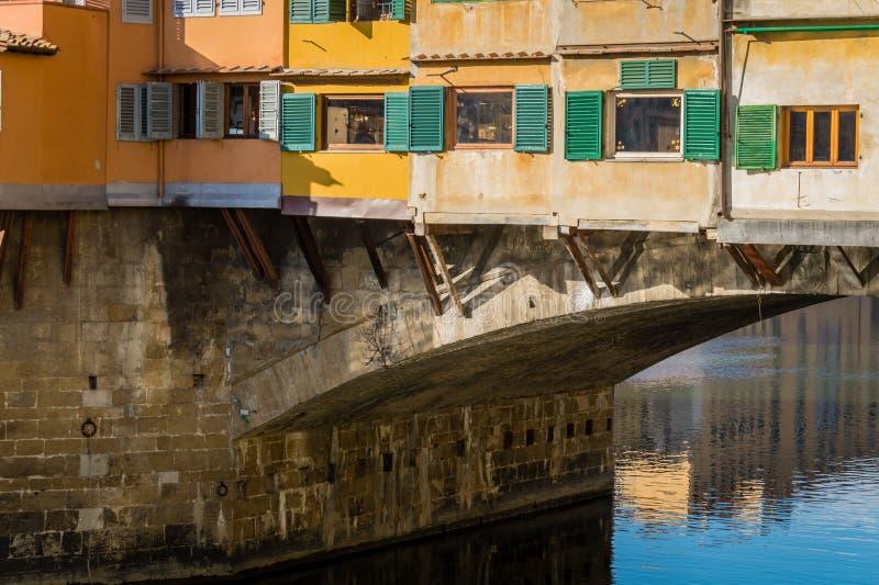 Ponte Vecchio,佛罗伦萨意大利 库存照片