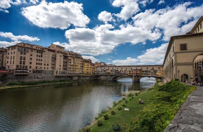 Ponte Vecchio στη Φλωρεντία της Φλωρεντίας, Τοσκάνη, Ιταλία στοκ φωτογραφία με δικαίωμα ελεύθερης χρήσης