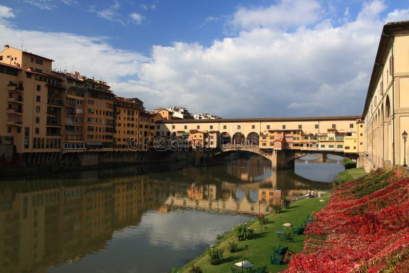 Download Ponte Vecchio stock image. Image of monument, reflection - 16799983