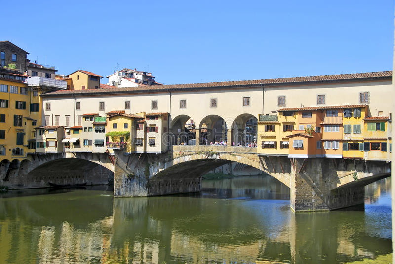 Download Ponte vecchio stock photo. Image of italia, building - 21434406