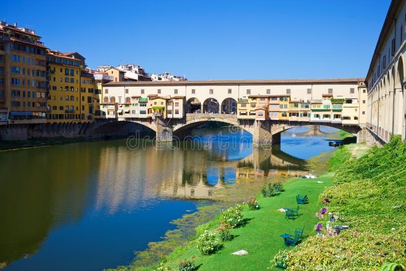 Ponte Vecchio fotos de archivo