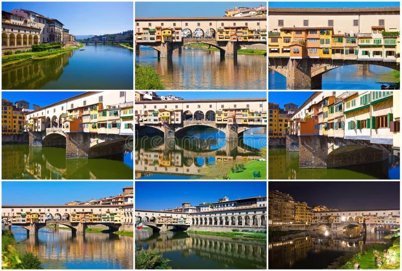 Ponte Vecchio stockfotos