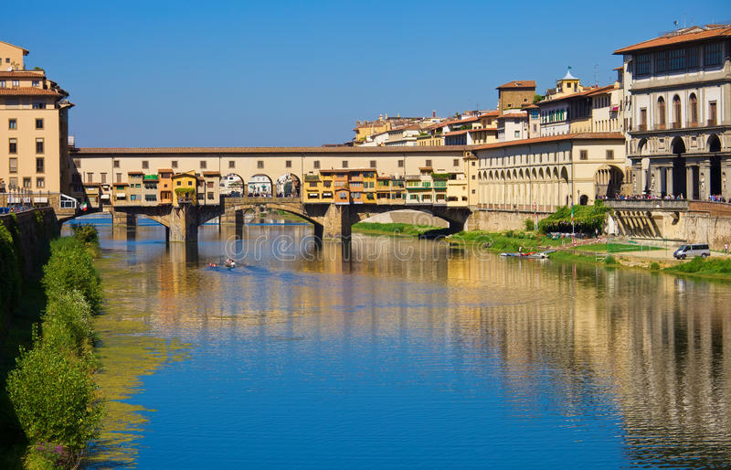 Ponte Vecchio imagem de stock royalty free
