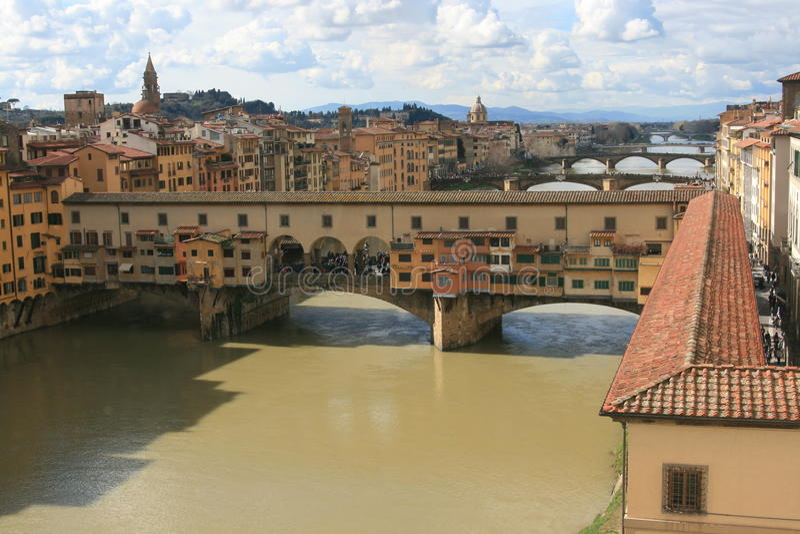 Ponte Vecchio fotografia stock libera da diritti