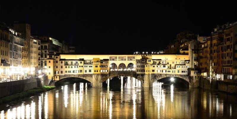 Ponte-vecchio (alte Brücke), Firenze stockbild