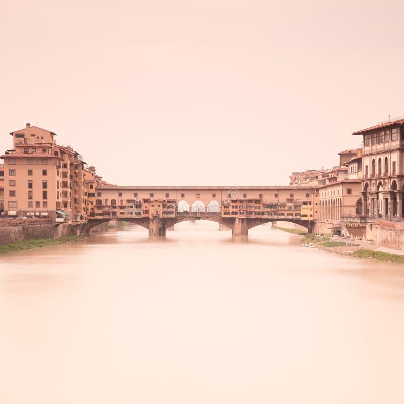 Ponte Vecchio Arno. Florence, Tuscany, Italy Royalty Free Stock Photography