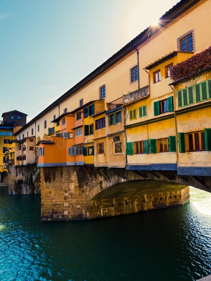 Download Ponte Vecchio stock photo. Image of houses, italy, green - 31104828