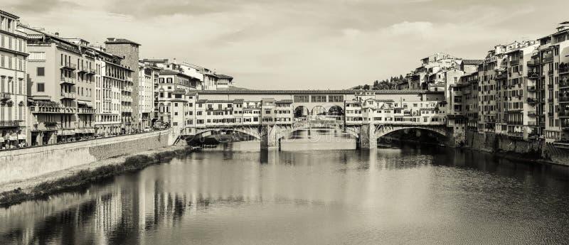 Ponte Vecchio em Florença, Itália fotos de stock royalty free