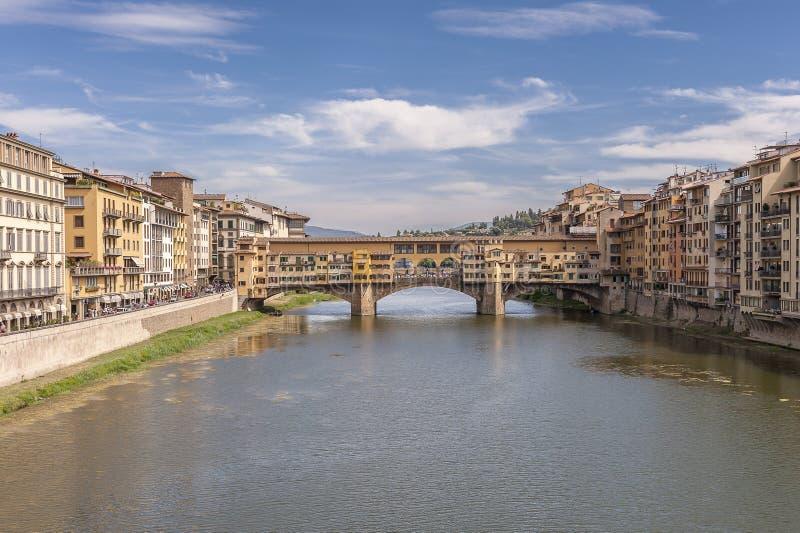 Ponte Vecchio em Florença, Italy fotos de stock