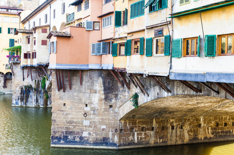 Download Ponte Vecchio a Firenze fotografia stock. Immagine di cityscape - 55353616