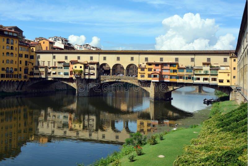 Ponte Vecchio Firenze - in Italia immagini stock