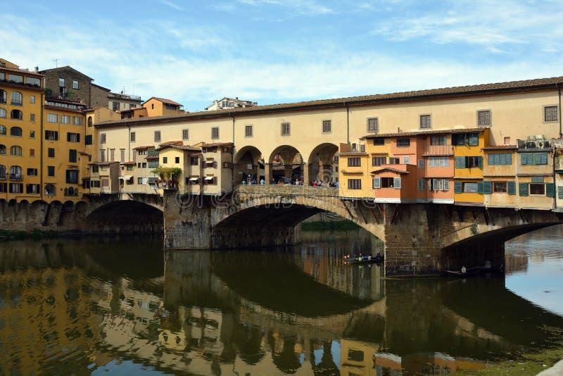 Ponte Vecchio Firenze - in Italia immagine stock