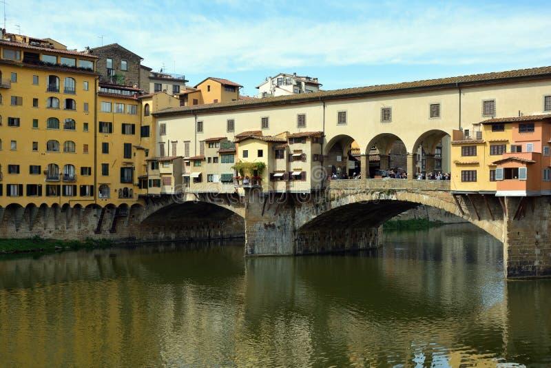 Ponte Vecchio Firenze - in Italia fotografia stock