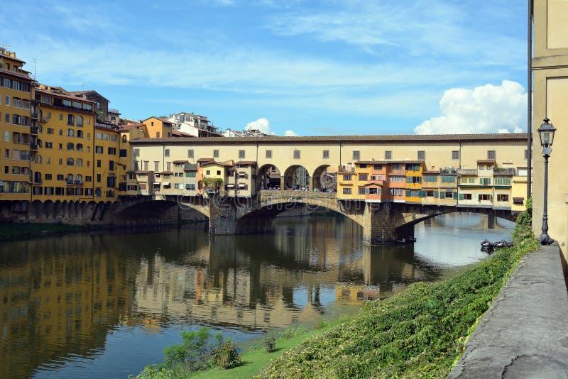Ponte Vecchio Firenze - in Italia immagine stock libera da diritti