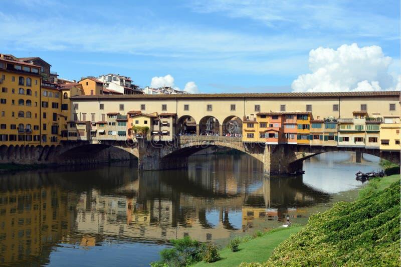 Ponte Vecchio Firenze - in Italia fotografia stock libera da diritti