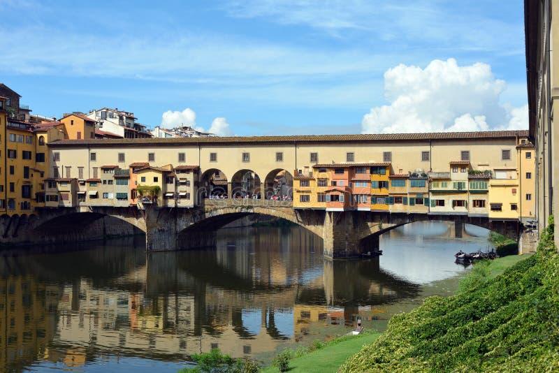 Ponte Vecchio Firenze - in Italia immagini stock libere da diritti