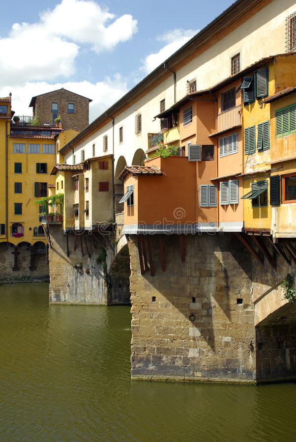Ponte Vecchio, Firenze, Italia fotografie stock