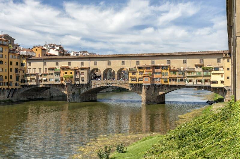 Ponte Vecchio a Firenze, Italia fotografia stock