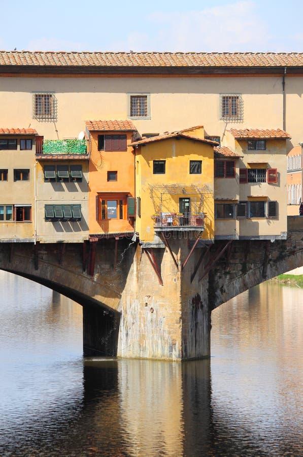 Ponte Vecchio In Florence Stock Foto's