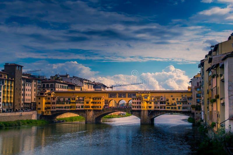 Ponte Vecchio, Florence stock afbeelding