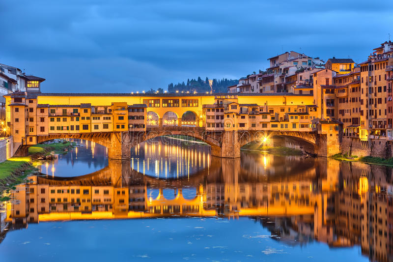 Download Ponte Vecchio in Florence stock photo. Image of history - 35530494