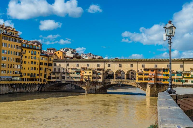 Ponte Vecchio, Florence, Italië stock afbeelding