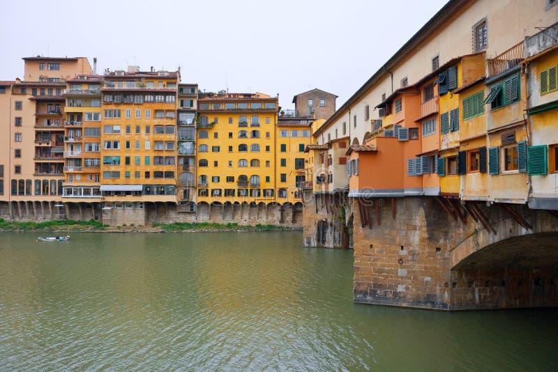 Ponte Vecchio. Florence, Italië stock foto