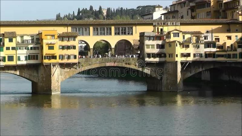 Ponte Vecchio, Florence, Italie clips vidéos