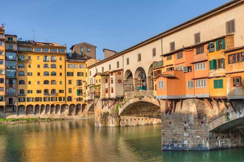 Ponte Vecchio, Florence, Italien royaltyfri fotografi