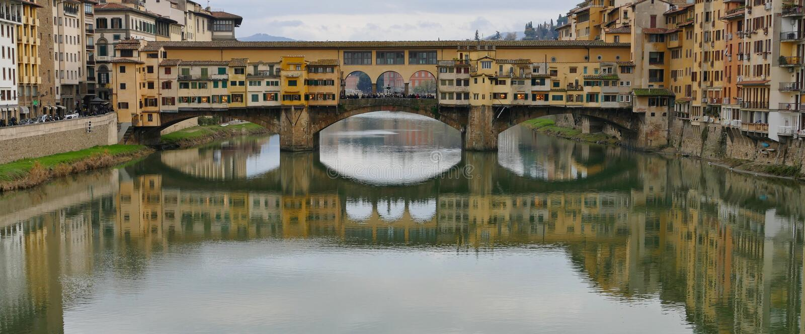 Ponte vecchio. Florence italy stock images