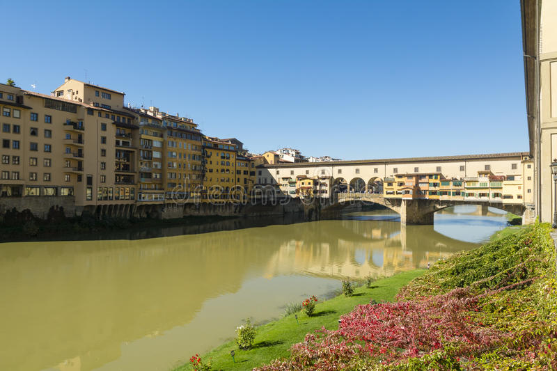 Ponte Vecchio - Florence. stock photo