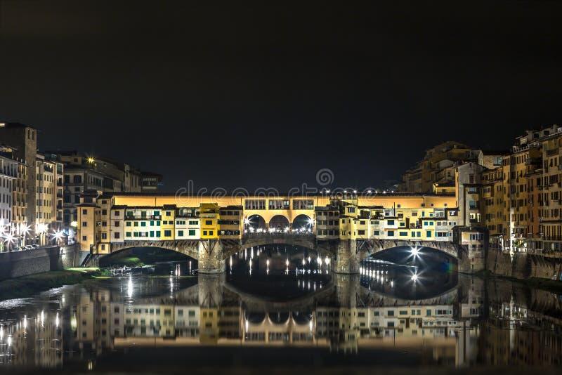 Ponte Vecchio, Florenz lizenzfreies stockfoto