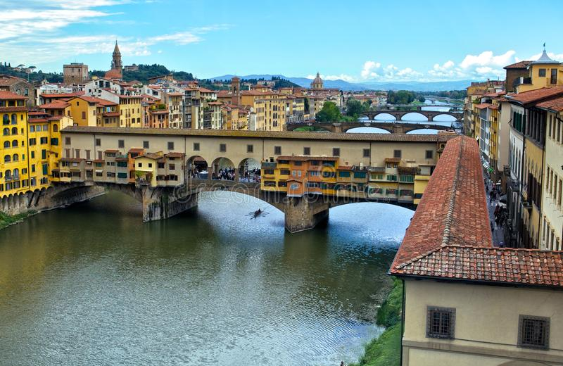 Ponte Vecchio. In Italy Firenze royalty free stock images