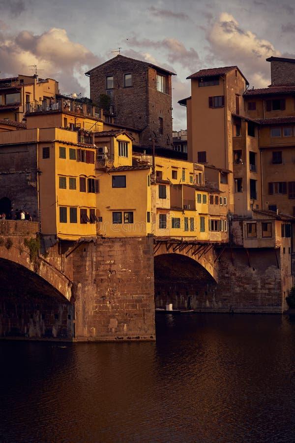 Ponte Vecchio most zdjęcie royalty free