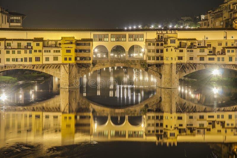 The Ponte Vecchio (Old Bridge) in Florence, Italy. stock image