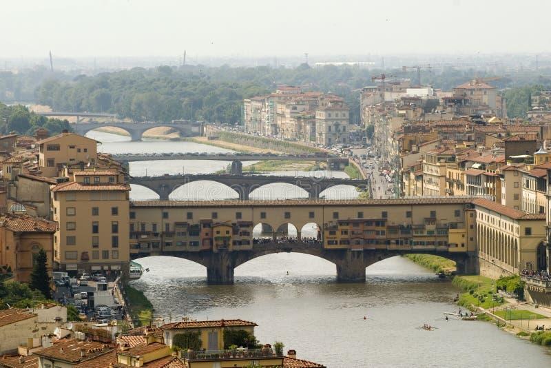 Ponte Vechio royalty-vrije stock foto