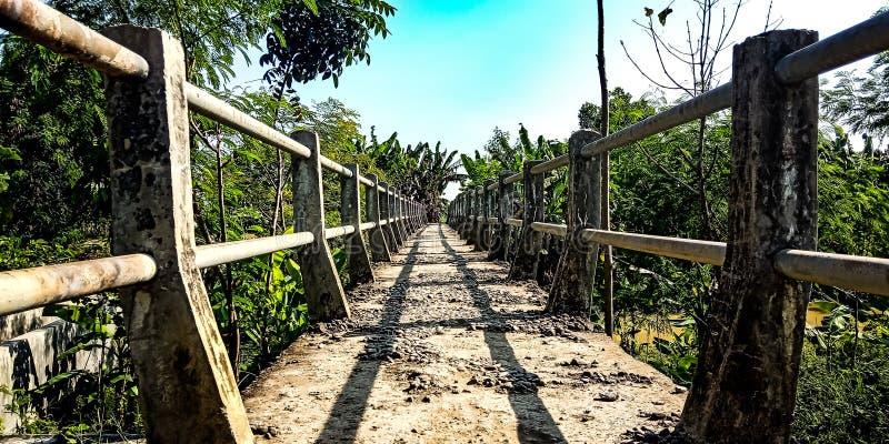 A ponte velha fotos de stock
