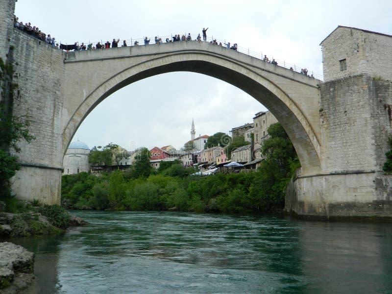 Ponte velha Mostar fotos de stock
