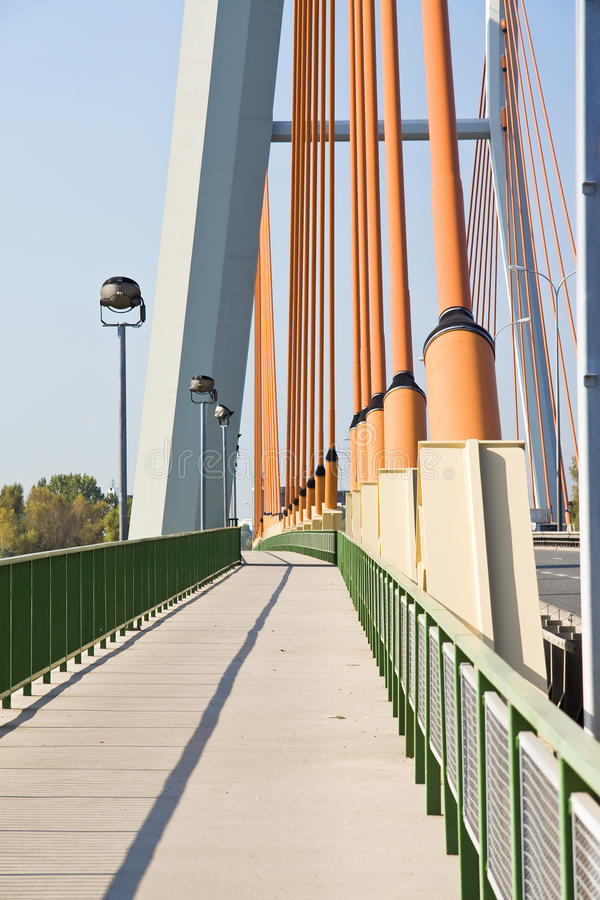 Ponte verde. imagens de stock