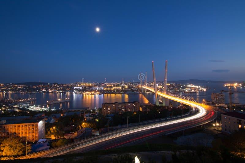 Ponte in Vladivostok immagine stock libera da diritti