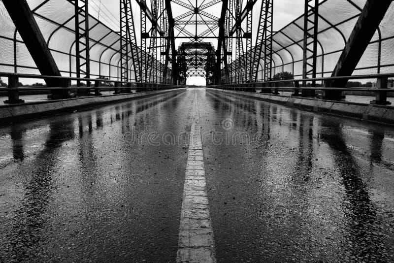 Ponte Winnipeg di Arlington fotografia stock