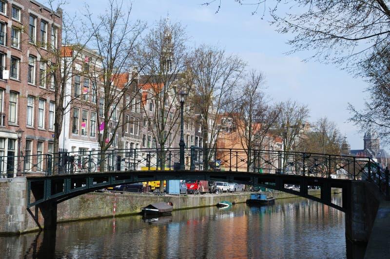 Pontes de Amsterdão imagens de stock royalty free