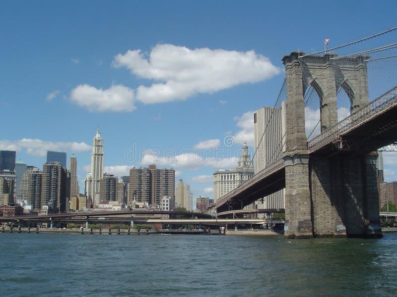 Pontes de New York fotografia de stock